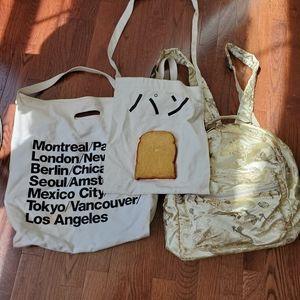 3 preowned bags